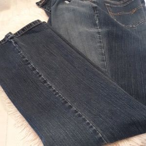 New York & Co distress jeans